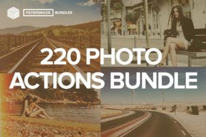 FilterGrade Photoshop Actions Bundle