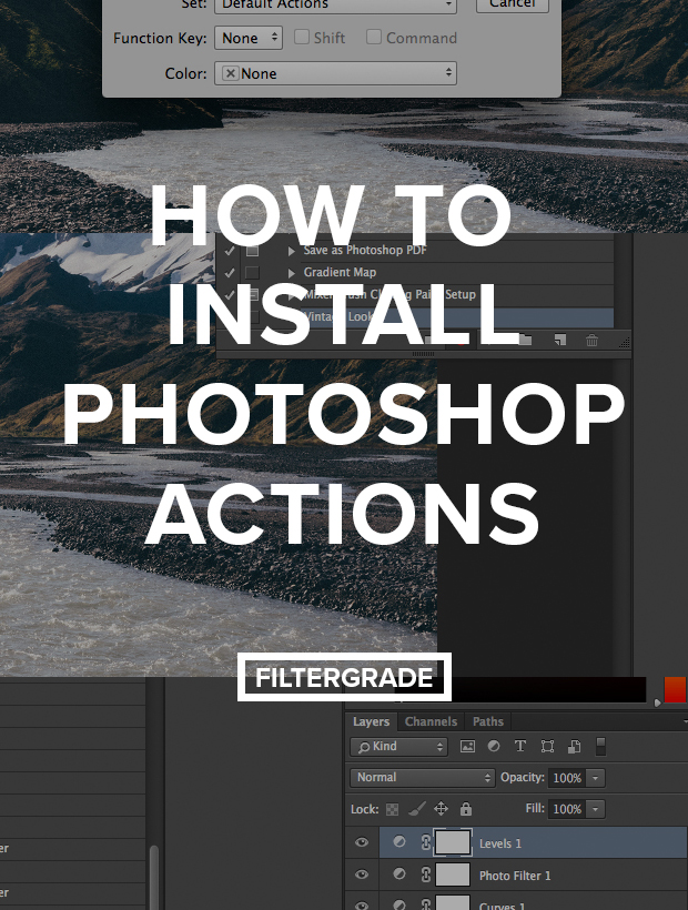 Learn how to Install Photoshop Actions with this tutorial.