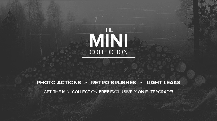The Mini Collection - Free Photoshop Actions - FilterGrade