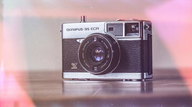 light leak polaroid camera