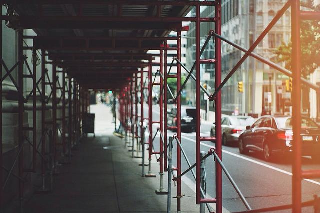 light leaks in the city