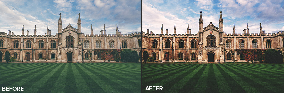 photoshop action before and after