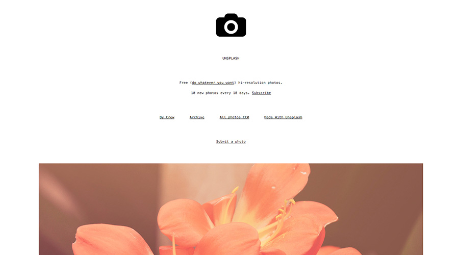 photography inspiration unsplash