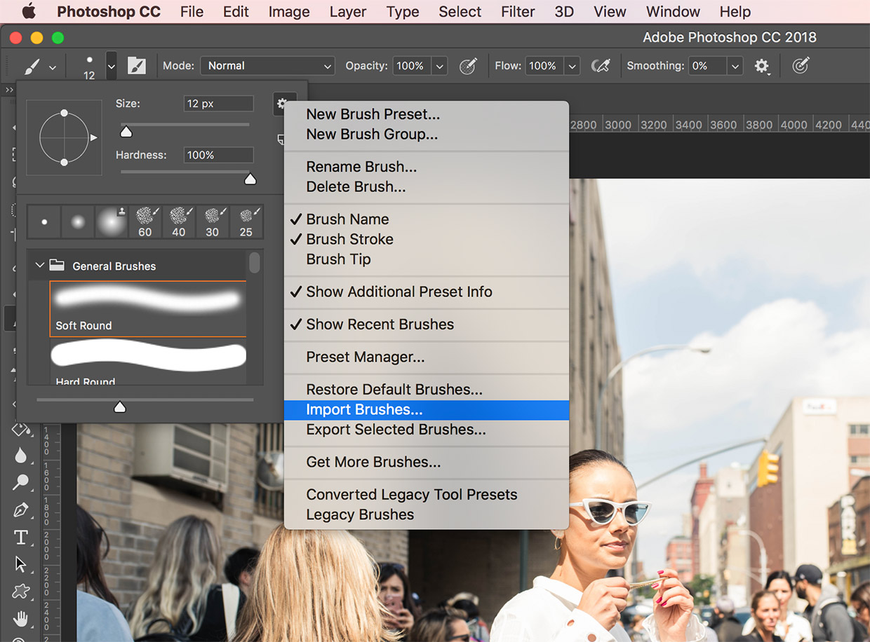 install brushes photoshop