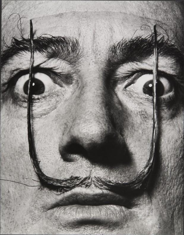 Salvador Dali Portrait by Philippe Halsman
