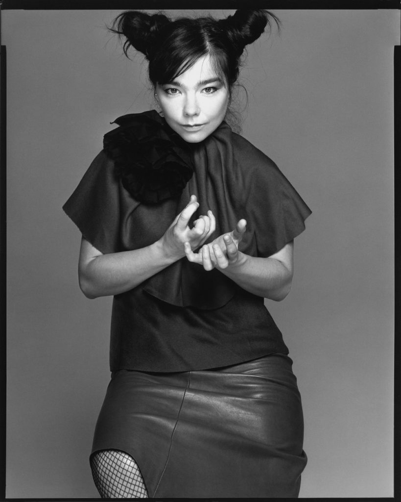 Björk Portrait by Richard Avedon