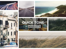 QuickTone Photoshop Actions from FilterGrade