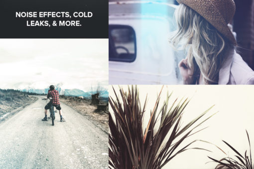 Features of ColdPress Winter Photoshop Actions