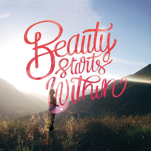 Beauty Hand Lettering