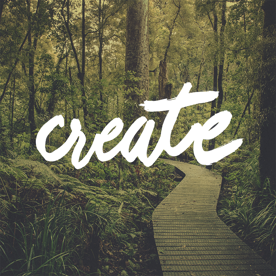 create hand lettering
