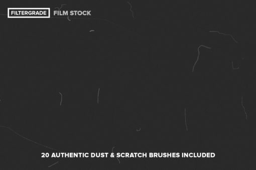Dust & Scratch Photoshop Brushes