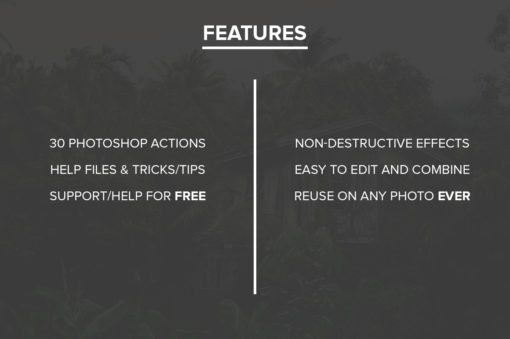 color wash photoshop actions