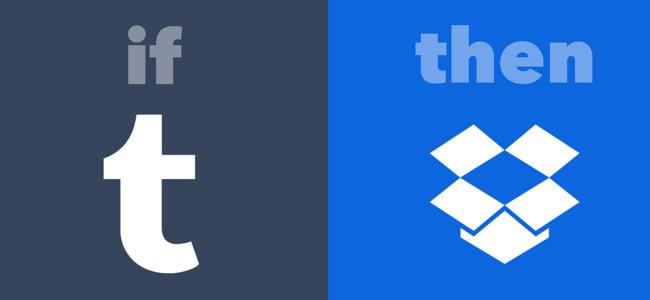 Save Tumblr photos to Dropbox IFTTT