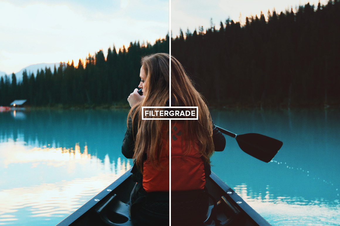 FilterGrade FilmTone Photoshop Actions Before After