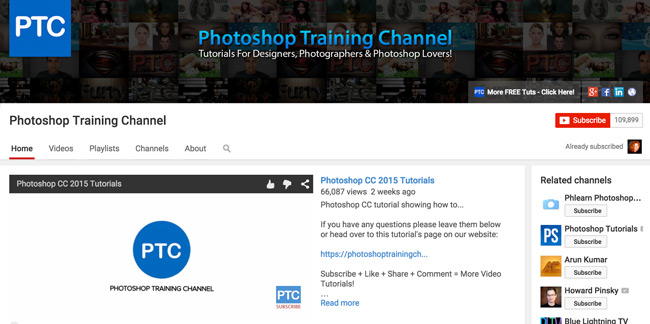 Photoshop-Training-Channel