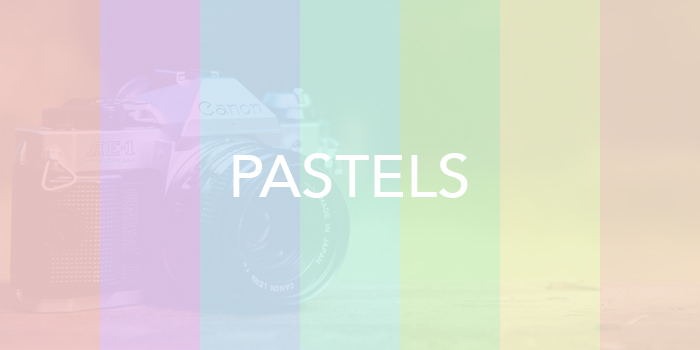 how to create a pastel photo effect in Photoshop