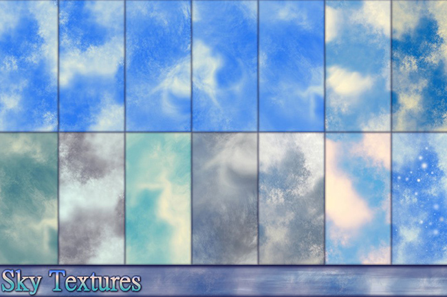 sky textures collection