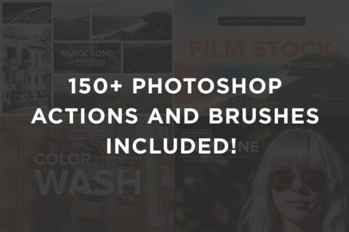 150+ Photoshop Actions and Brushes