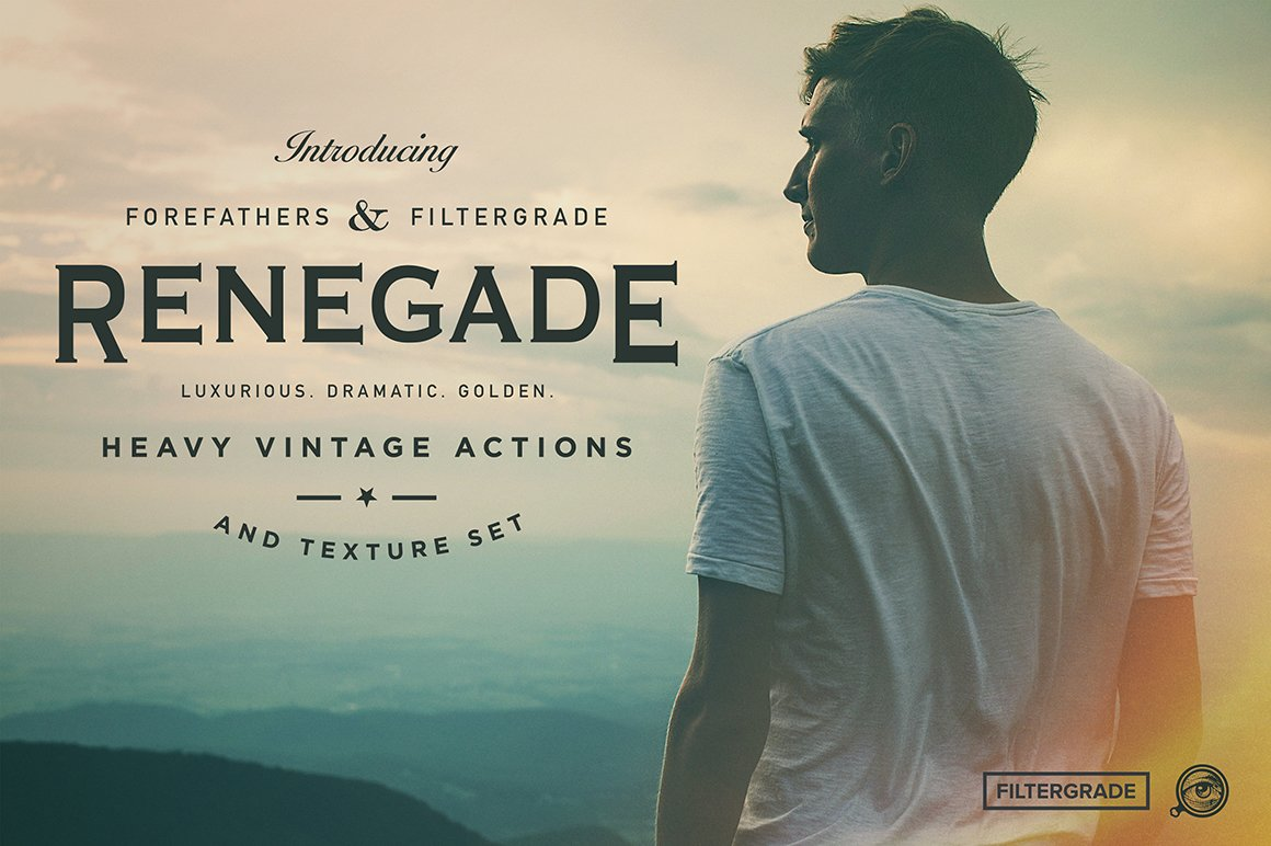 Renegade Heavy Vintage Photoshop Actions