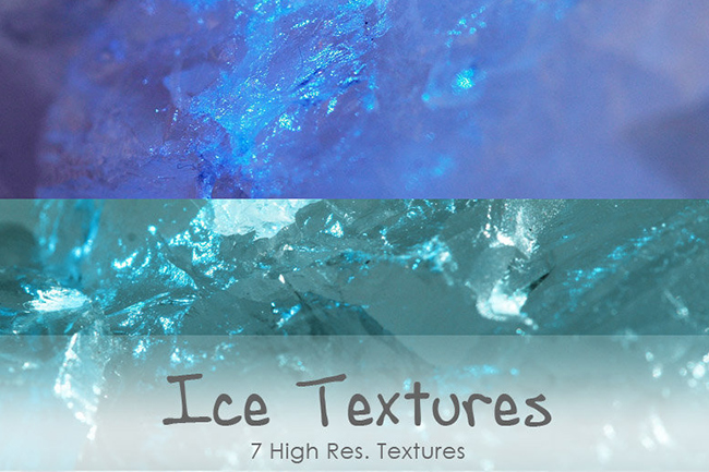 ice textures pack