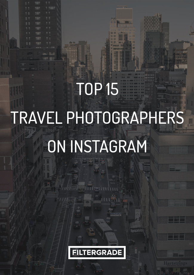 travel photographers on Instagram