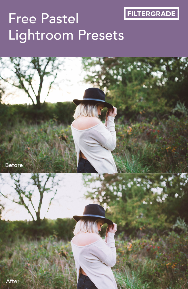 free pastel lightroom presets