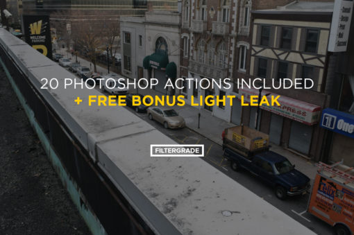 light leak photoshop action bonus