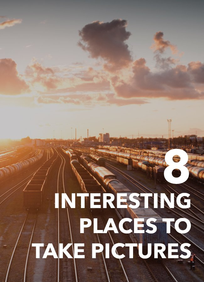 A quick look at 8 interesting photography locations to try out.