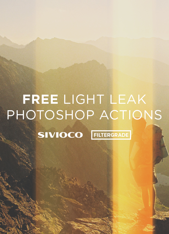 Fun light leaks for Photoshop! Created by Sam Jones of Sivioco. Download them for free on FilterGrade.