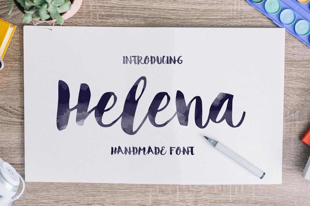 Helena Font by Noe Araujo