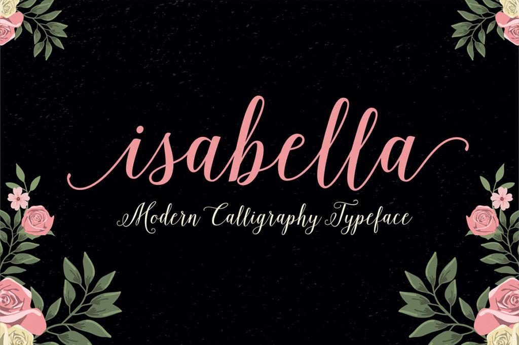 Isabella Script by Seniors.