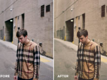 vintage matte filters and photoshop actions