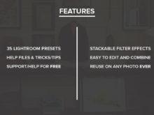 RetroTone Lightroom Presets Features