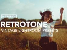 RetroTone Vintage Lightroom Presets.