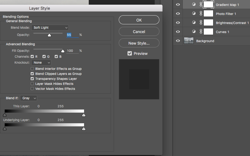 Changing opacity in the Layers Panel Photoshop.