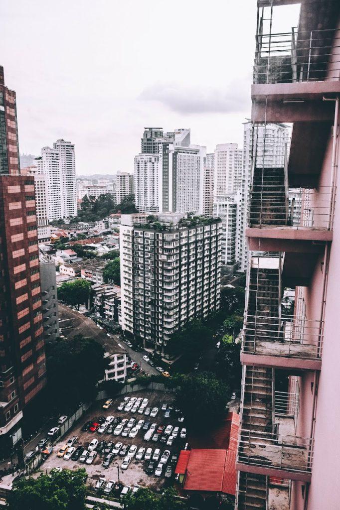 city bustle