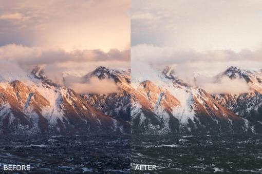 landscape lightroom presets