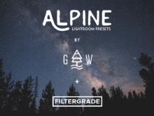 Alpine Lightroom Presets by Garin Wood