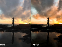 sunset presets for lightroom