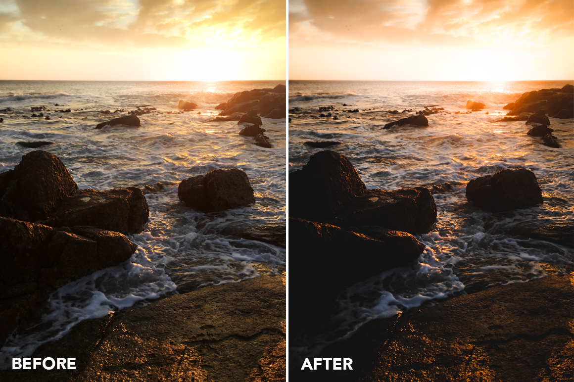 sunset lightroom presets by kellan hendry