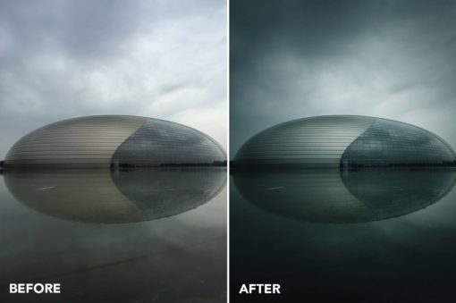minimalist photoshop filters