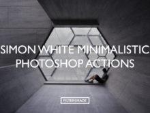 Beautiful, minimal Photoshop Actions by Simon White.