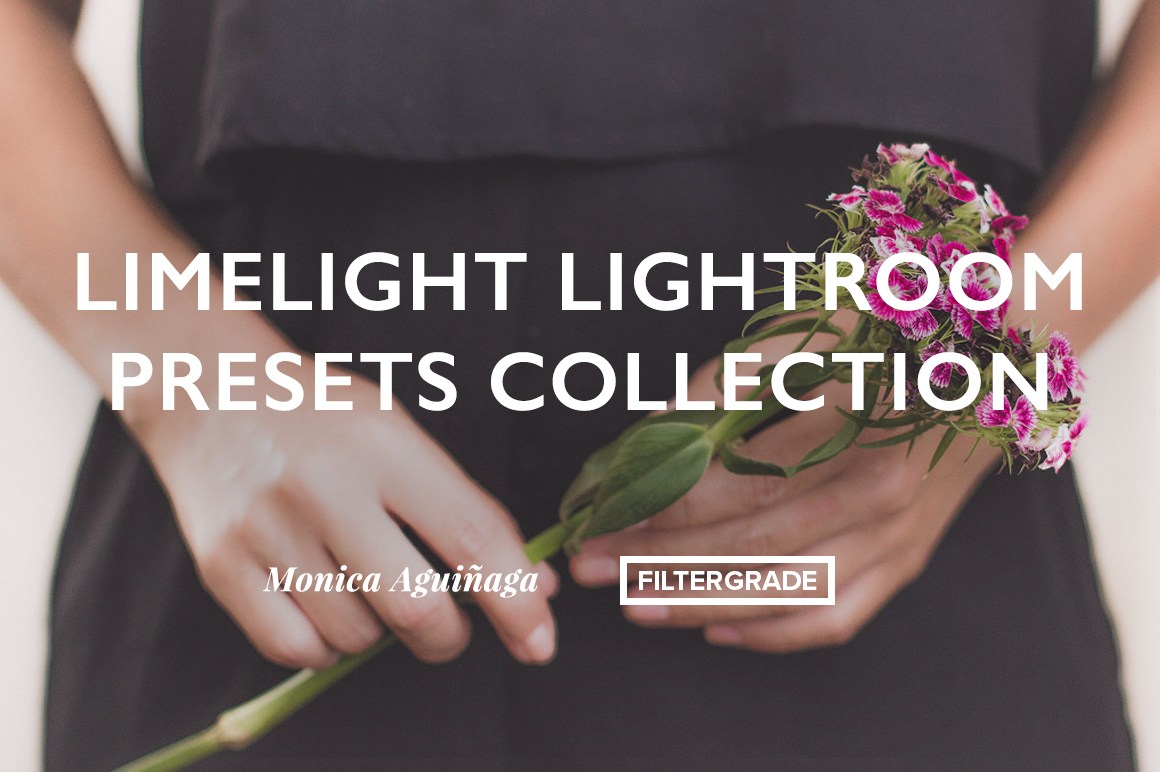Beautiful Lightroom Presets for bloggers, artists, and makers by Monica Aguinaga.