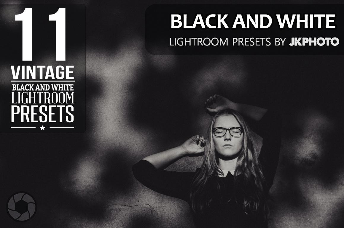 Vintage Black and White Lightroom Presets