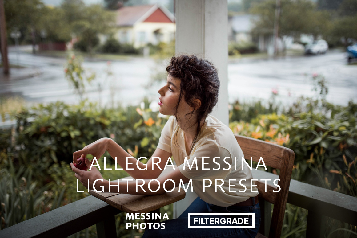 Beautiful Lightroom Presets by photographer Allegra Messina.