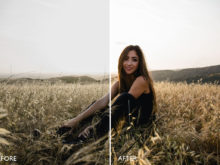 crisp light portrait lightroom preset