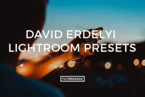 David Erdelyi Lightroom Presets