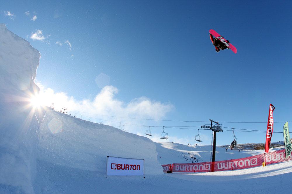 teddy hoffman snowboarding