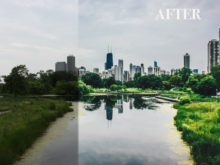 city green lightroom preset