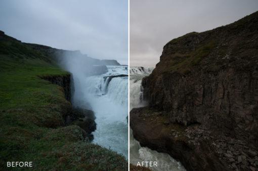 dark moody lightroom presets for landscape photographers